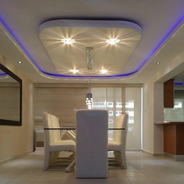Pin trabajos de gypsum wallpapers real madrid on pinterest for Disenos de techos en yeso