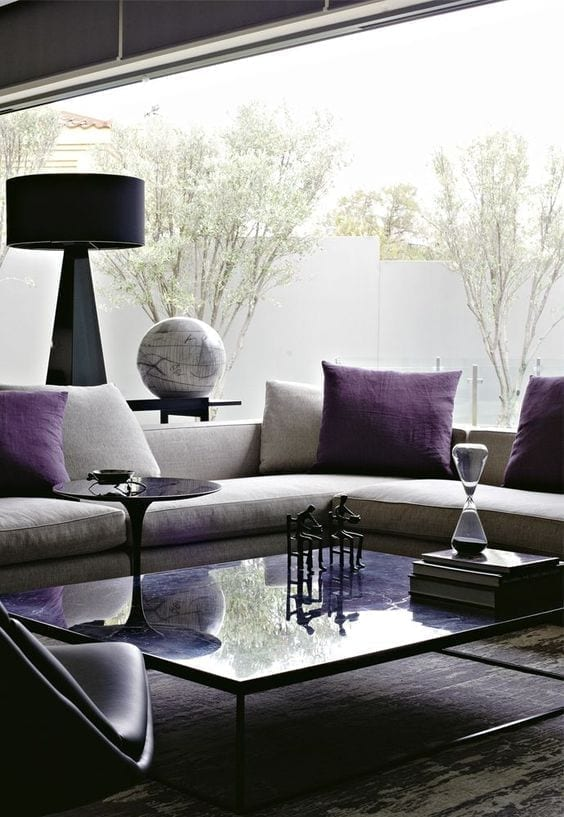 Decoración con Ultra Violet
