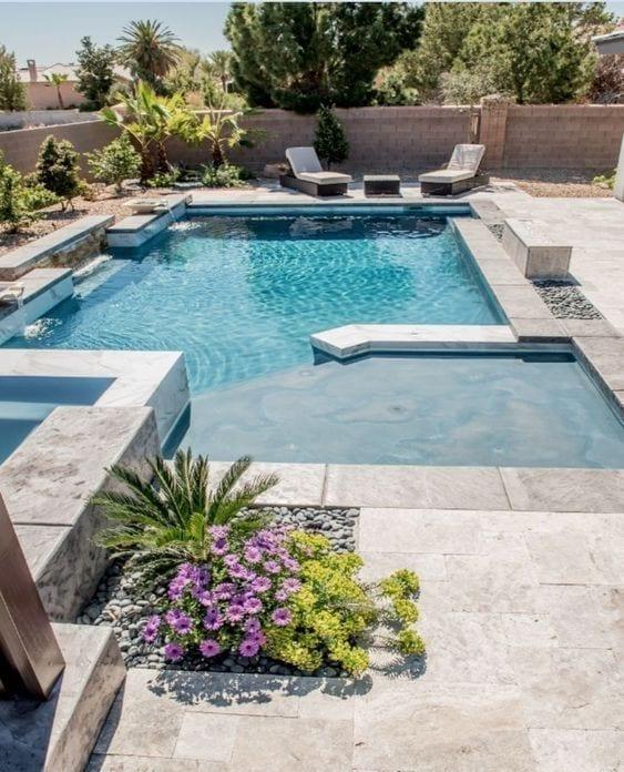 diseños de piscinas modernos