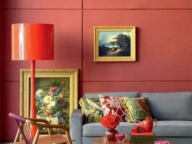 Salas Living Coral: color Pantone 2019